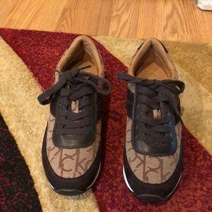 Calvin Klein gym shoes never worn